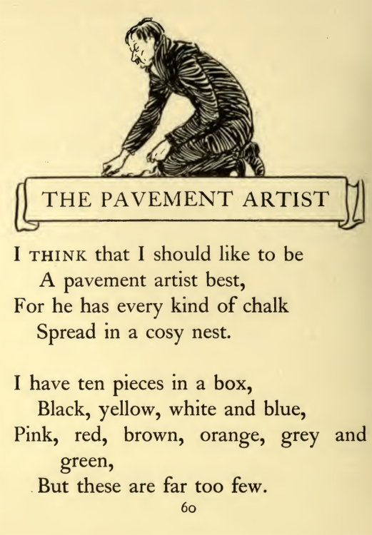The Pavement Artist