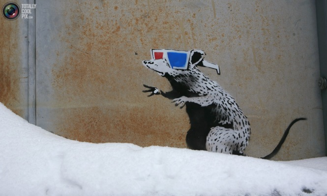 BANKSY at The Sundance Film Festival 2010. Photo by REUTERS/Robert Galbraith