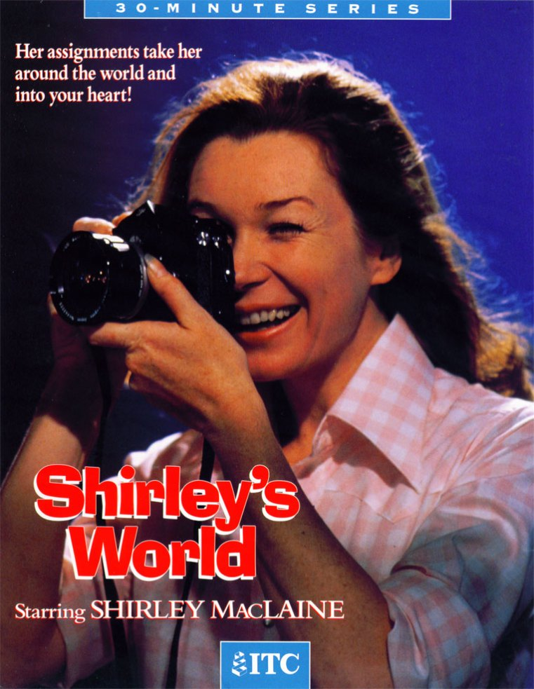 Shirley's World- Original Press Pack cover: 1971