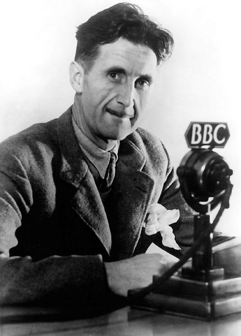 George Orwell: BBC image
