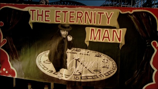 Movie Still: The Eternity Man, opening credits