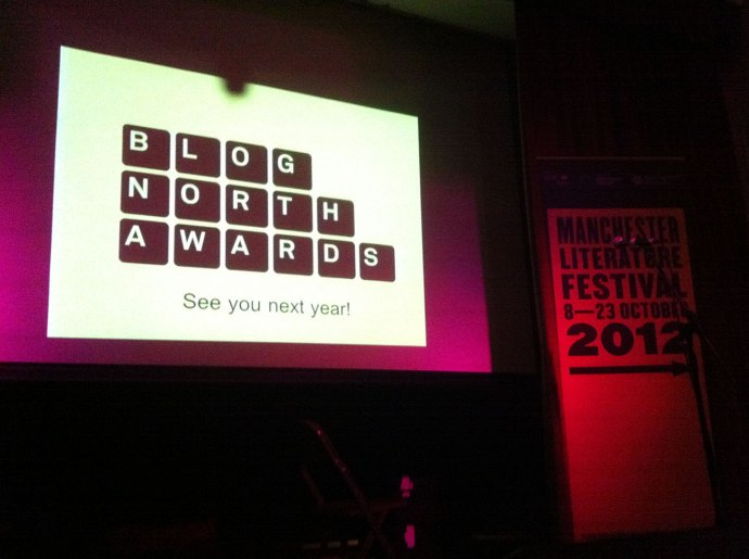 THE BLOG NORTH AWARDS 2012