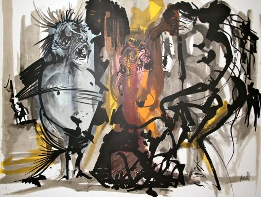 Raymond MORETTI contemporary Lithograph