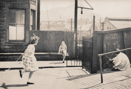 From the book: Playing Out at ALBION TERRACE, Edinburgh 1964.