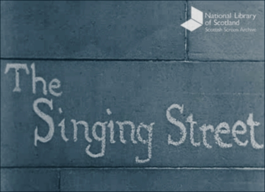 Opening Title from THE SINGING STREET 1951