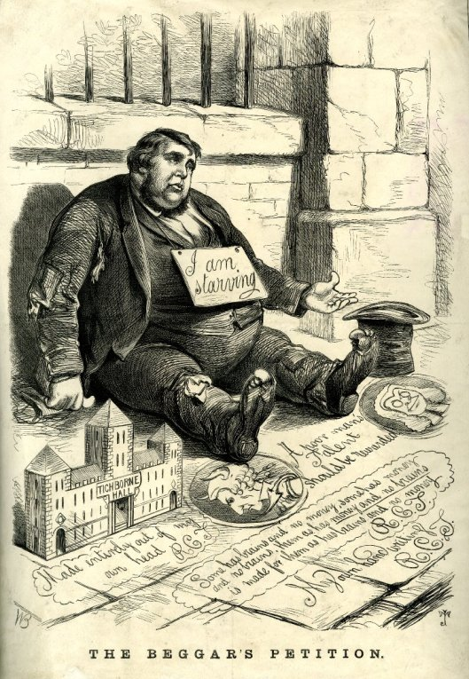 The Beggars Petition! Arthur Orton 1871© Trustees of the British Museum