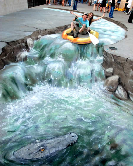 3D art of Julian Beever