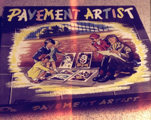 Pavement Artist Game by Marchent 1950.